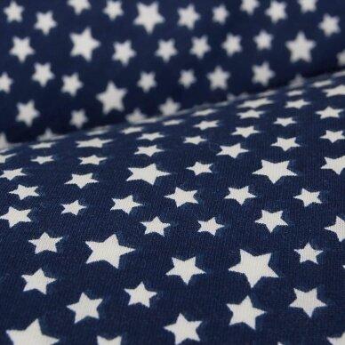 CebaBaby maitinimo pagalvė dżersej multi, žvaigžgės, tamsiai mėlyna 3