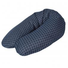 Maitinimo pagalvė FLEXI, CARO (190x32/37), mėlyna