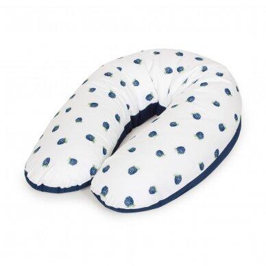 Maitinimo pagalvė dżersej, MULTI, gervuogė