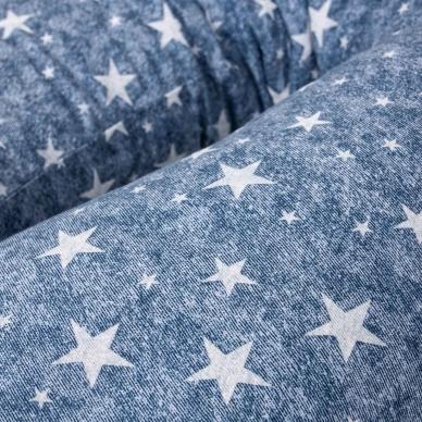 Maitinimo pagalvė MULTI, džinsai, mėlyna, žvaigždutės 2