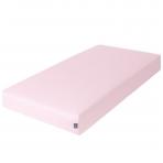 Paklodė su guma jersey, 120x60, rožinė