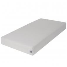 Paklodė su guma frotte, 120x60, šviesiai pilka