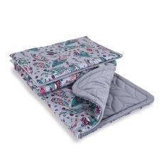 Pagalvė + antklodė, AZTECA&NATURE, Plumas-Lapeliai, 30x40, 75x100