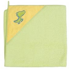 Rankšluostis su gobtuvu 100x100 žalias, krokodilas