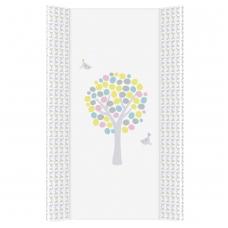Vystymo lenta CebaBaby kieta, 80 cm, magiškas miškas, rožinė